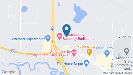 Country Inn & Suites by Radisson, Fergus Falls, MN Map