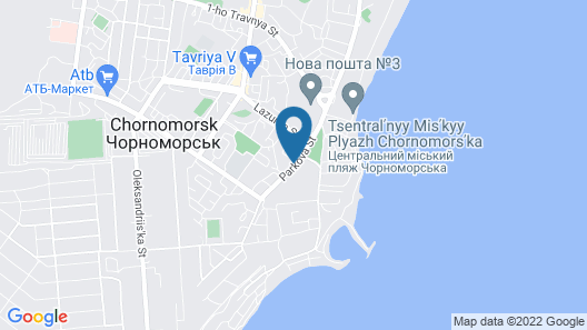 WellOtel Chernomorsk Map
