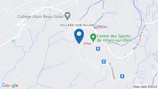 VIU Hotel Villars Map