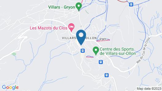 Villars Palace Map