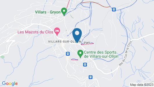 Grand Hotel Du Parc Villars Map