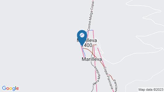 TH Marilleva 1400 Map