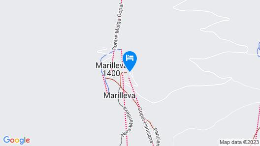 Residence Il Vigo di Marilleva Map