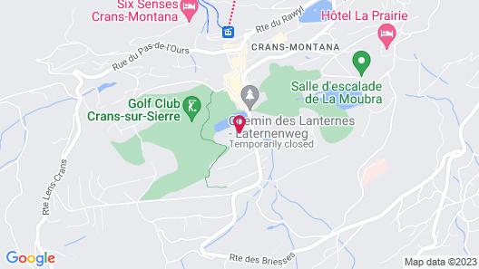 Grand Hôtel du Golf & Palace Map