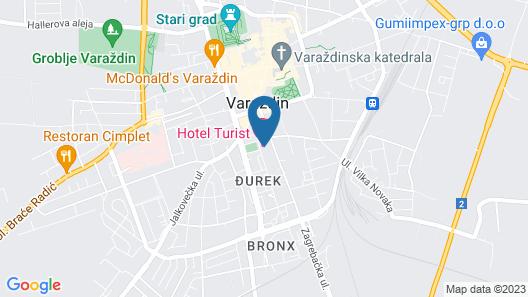 Hotel Turist Map
