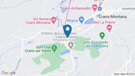Apartment Rue Centrale Map