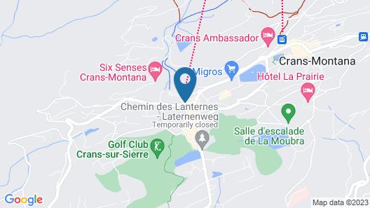 Hotel Robinson Map
