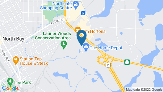 Holiday Inn Express & Suites North Bay, an IHG Hotel Map