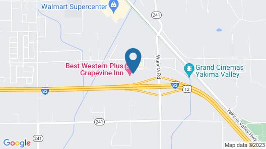 Best Western Plus Grapevine Inn Map