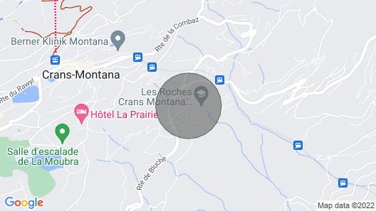 La Grande Baronne: Lux alp. chalet with jacuzzi, sauna and fitness Map