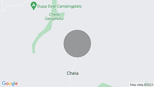 Cozy hut in the Wild Nature of Romania Map
