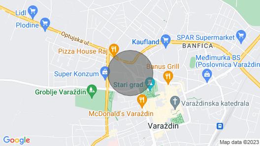 O21 House - Old Town Varaždin Map
