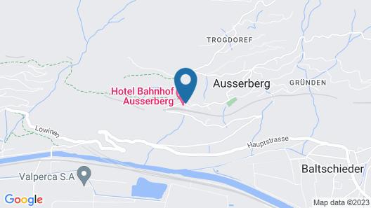 Hotel Bahnhof Ausserberg Map