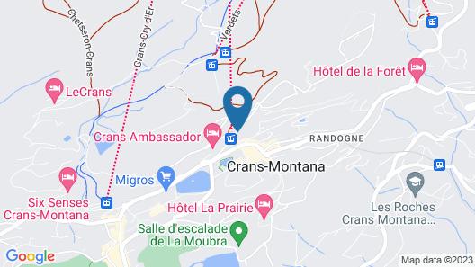 Arenas Resort Valaisia Map