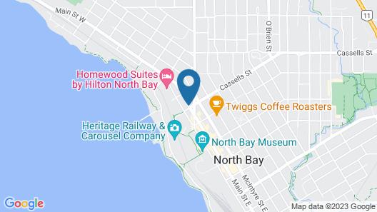 Days Inn & Suites by Wyndham North Bay Map