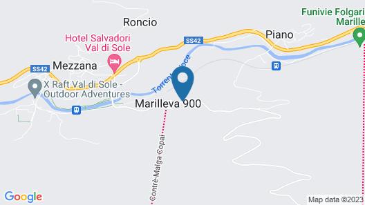 Affittacamere Lago Rotondo Map