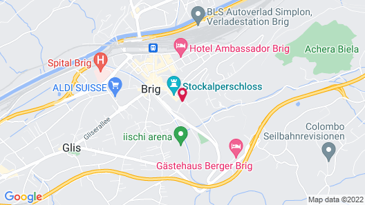 Gästehaus St. Ursula Map