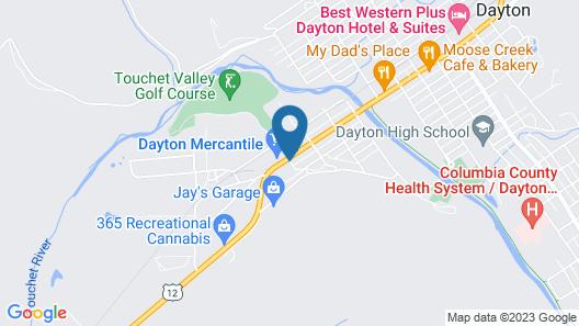 Dayton Motel Map