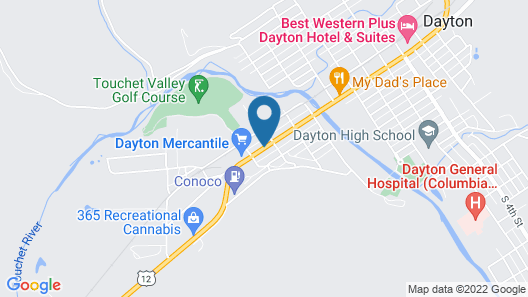 Blue Mountain Hotel Map