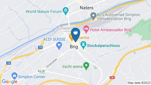Hotel De Londres Map
