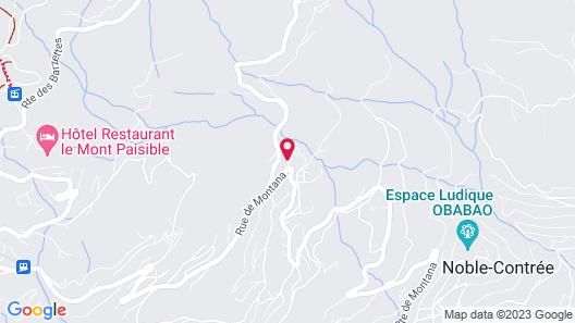 Mollens Chalet Map