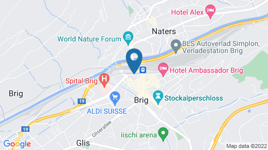 Hotel Europe Garni Map