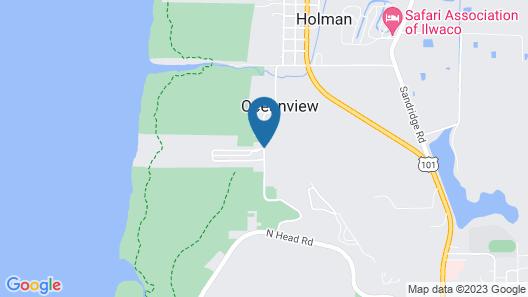 Long Beach RV & Camping Resort Map