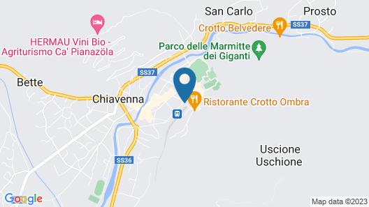 Hotel San Lorenzo Map