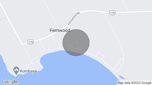 Sandy Feet Retreat, Cottage Fernwood PEI Map
