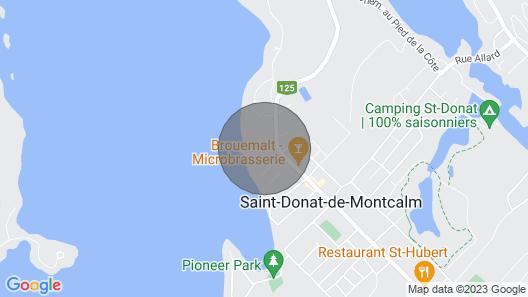 Condo Lac Archambault 313 Map