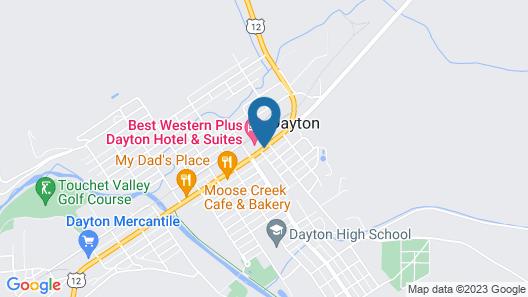 Best Western Plus Dayton Hotel & Suites Map