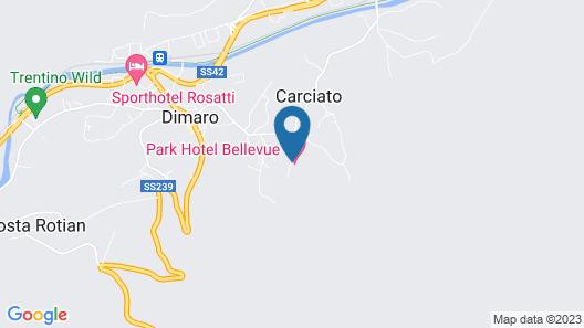 Parkhotel Bellevue Map