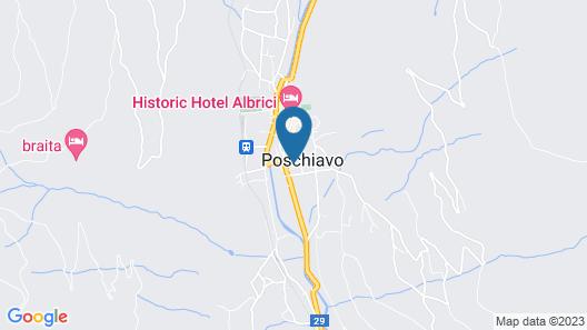 Albergo Croce Bianca Map
