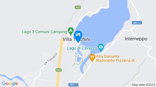 Hotel Trilago Map