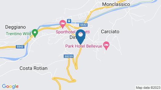 Alp Hotel Dolomiti Map