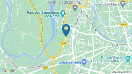 Résidence Citylodge du Campus Map