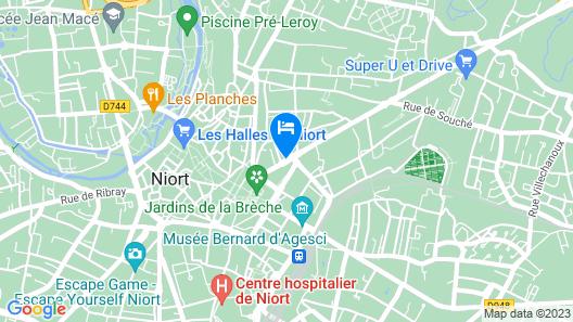 ibis Styles Niort Centre Map