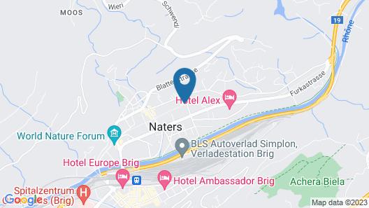 Hotel Alex Map