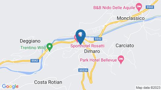 Garni Sottobosco Map