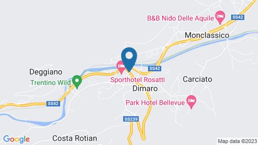 AlpHoliday Dolomiti Wellness Map