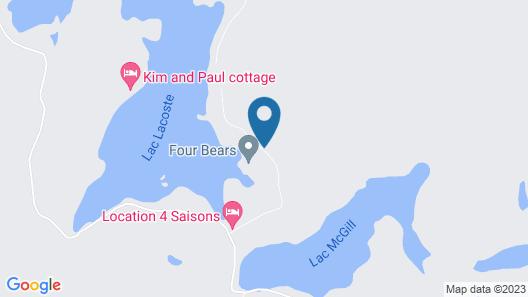 Chalet Deer Lodge Map