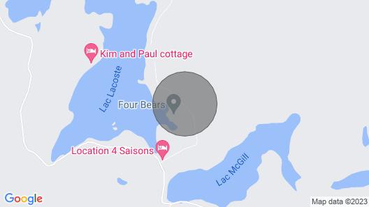Deer Lodge - Luxurious Log Cabin! Map