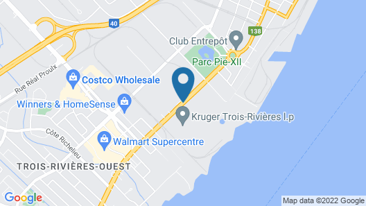 Travelodge by Wyndham Trois-Rivieres Map