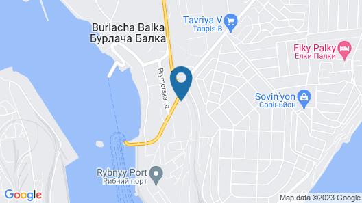 Berloga Hotel Map