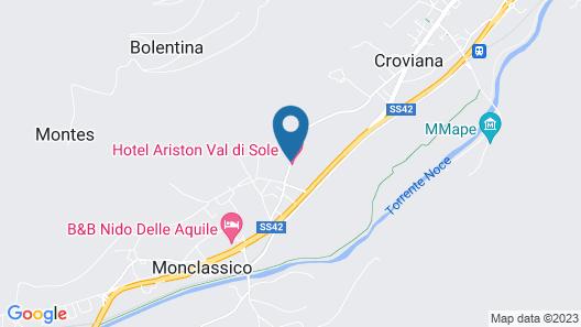 Hotel Ariston Map
