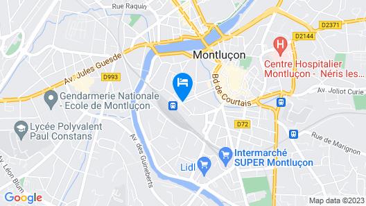 Hotel Le Faisan Map