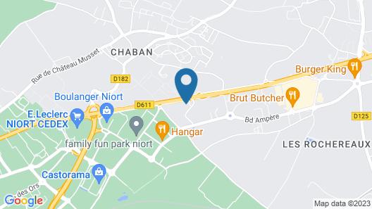The Originals City, Hôtel Solana, Niort Est (Inter-Hotel) Map