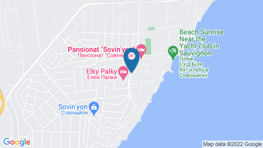 Grand Marine Spa Hotel Map