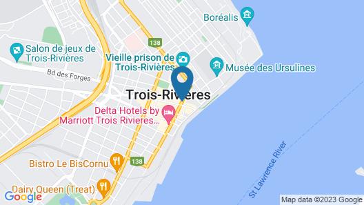 Hôtel Oui GO! Map