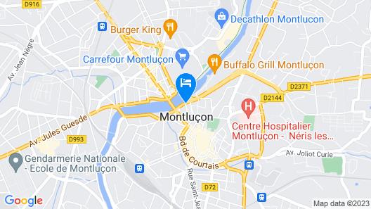 ibis Montluçon Map